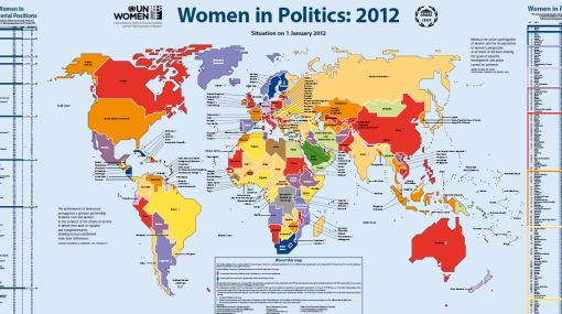 La lucha de las mujeres por la presencia política mundial